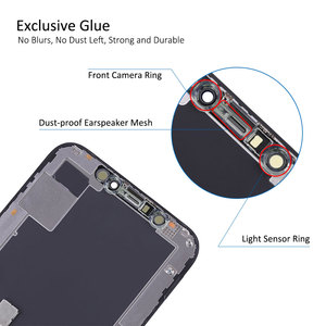 Image 5 - Elekworld Grade For AMOLED Tested Work Well LCDs For iPhone X XS LCD Display With 3D Touch Screen Digitizer Assembly Parts