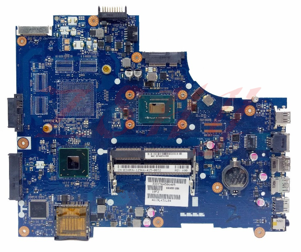 CN-00FTK8 For Dell 15R 3521 Laptop motherboard 0FTK8 VAW00 LA-9104P SR0XF I3 DDR3L nokotion brand new qcl00 la 8241p cn 06d5dg 06d5dg 6d5dg for dell inspiron 15r 5520 laptop motherboard hd7670m 1gb graphics