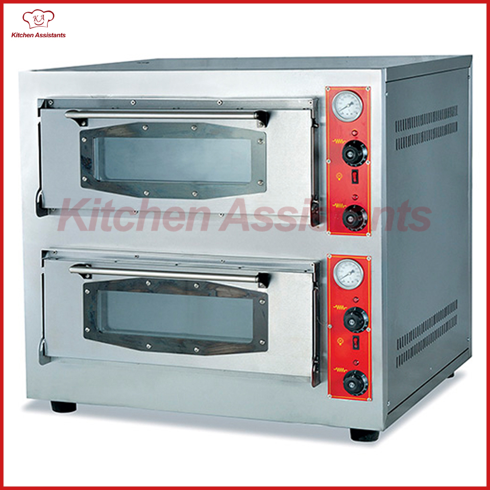 BSR202Q 2 Decks Gas Pizza Oven Commercial use bakery oven цена и фото
