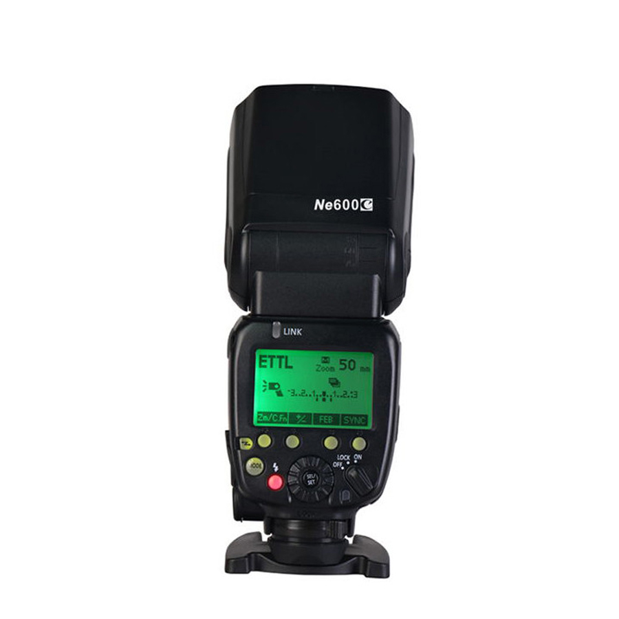 Photographic Equipment NiceFoto Ne600C speedlite/camera flash For Canon Camera nicefoto pa 3800n1 photographic equipment nicefoto speedlite power box with 3 ports for nikon camera 3800mah li ion battery