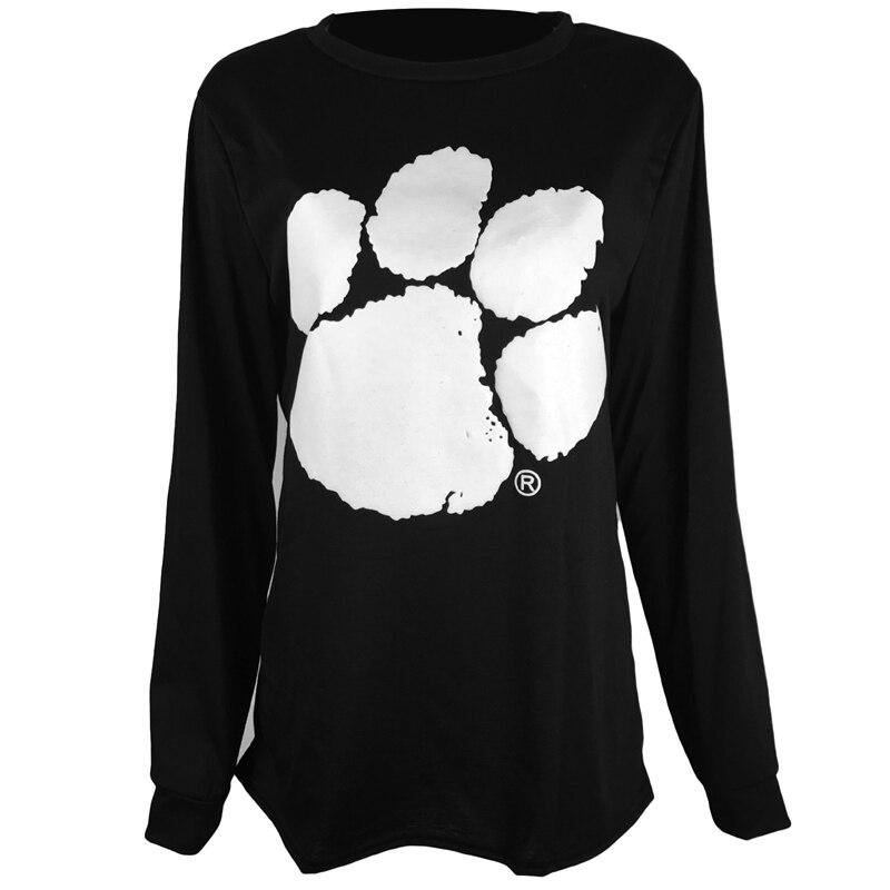 Neue Frühjahr Neue Bear Paw Print frauen Sweatshirts Europa Und Amerika Stil Casual Hoodies Für Frauen Mode Tops