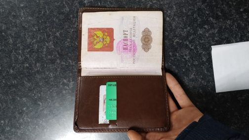 KUDIAN BEAR Passport Cover Women Rfid Passport Holder Designer Travel Cover Case Credit Card Holder -- BIH023  PM49 photo review