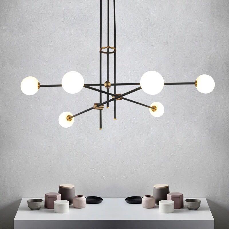 Modern Pendant Lights Led Gold hanging Lamp for living room kitchen Fixtures lustre Home Lighting luminaria Pendant Lamps