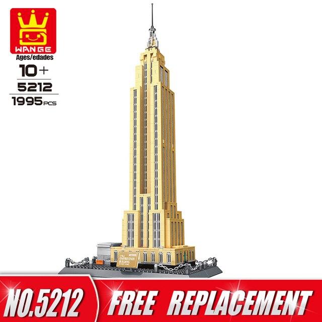 wange building blocks world famous architecture series empire state