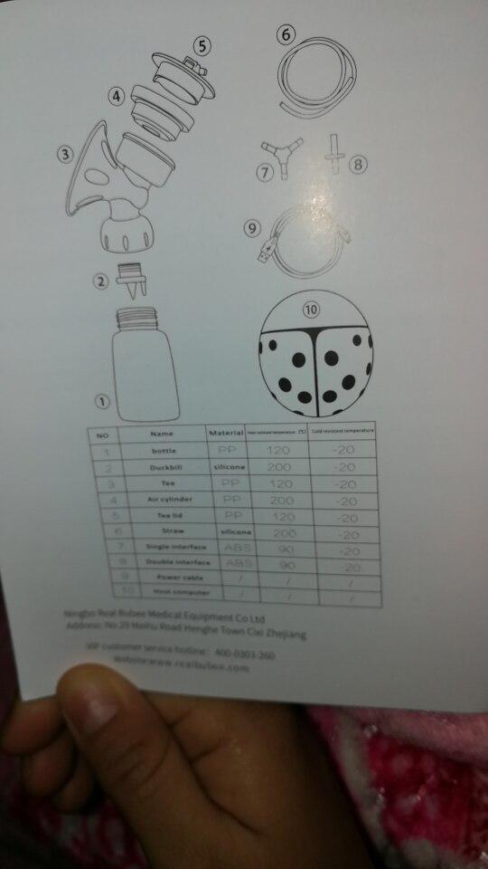 Настоящее Bubee один/двойной Электрический молокоотсос с бутылки молока для USB BPA бесплатно Мощный молокоотсосы для груди кормления