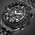 Мужские военные часы  аналоговые цифровые мужские часы  Лидирующий бренд  роскошные армейские тактические летные спортивные черные часы  ...