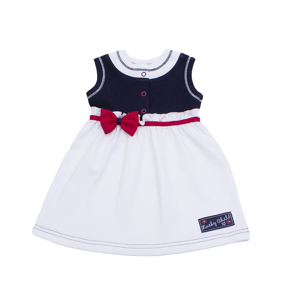 Dresses Lucky Child for girls 18-62 Romance Dress Kids Sundress Baby clothing Children clothes