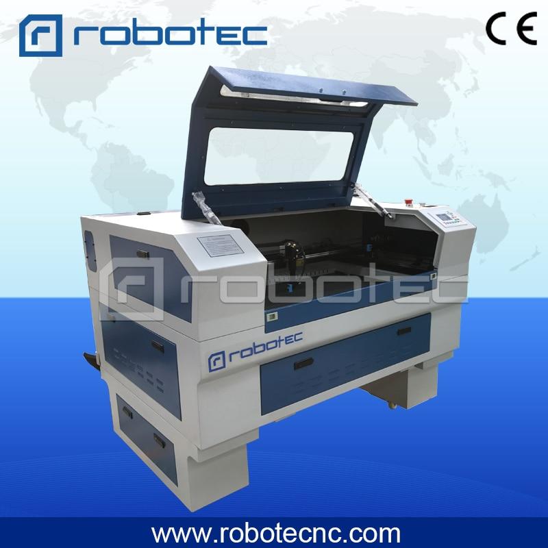Robotec brand 60w 80w Reci laser tube 6040 6090 mini co2 laser cutting machine rtj 6090 co2 water cooled wood acrelic plxiglass cutting engraving laser machine 6040 6090 laser cnc