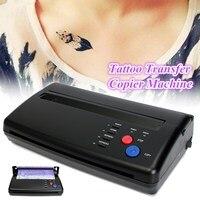 Nero Stampante Macchina Transfer Del Tatuaggio Disegno Tatuaggio Carta Di Trasferimento Termico Stencil Maker Copier Per A5-A4 Australia Plug Nero