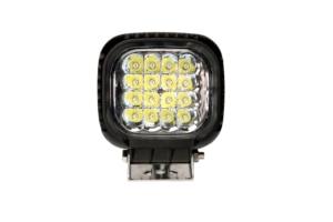 Image 2 - 48W LED światła robocze światła przeciwmgielne 12V IP67 Spot/Flood światła przeciwmgielne Off Road ciągnik pociąg autobus łódź reflektor ATV SUV akcesoria samochodowe
