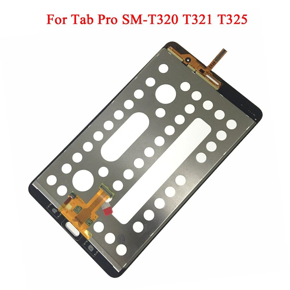 FIXSAILING LCD Affichage à L'écran Tactile Digitizer Capteurs L'assemblée de Remplacement Du Panneau Pour Samsung Galaxy Tab Pro SM-T320 T321 T325