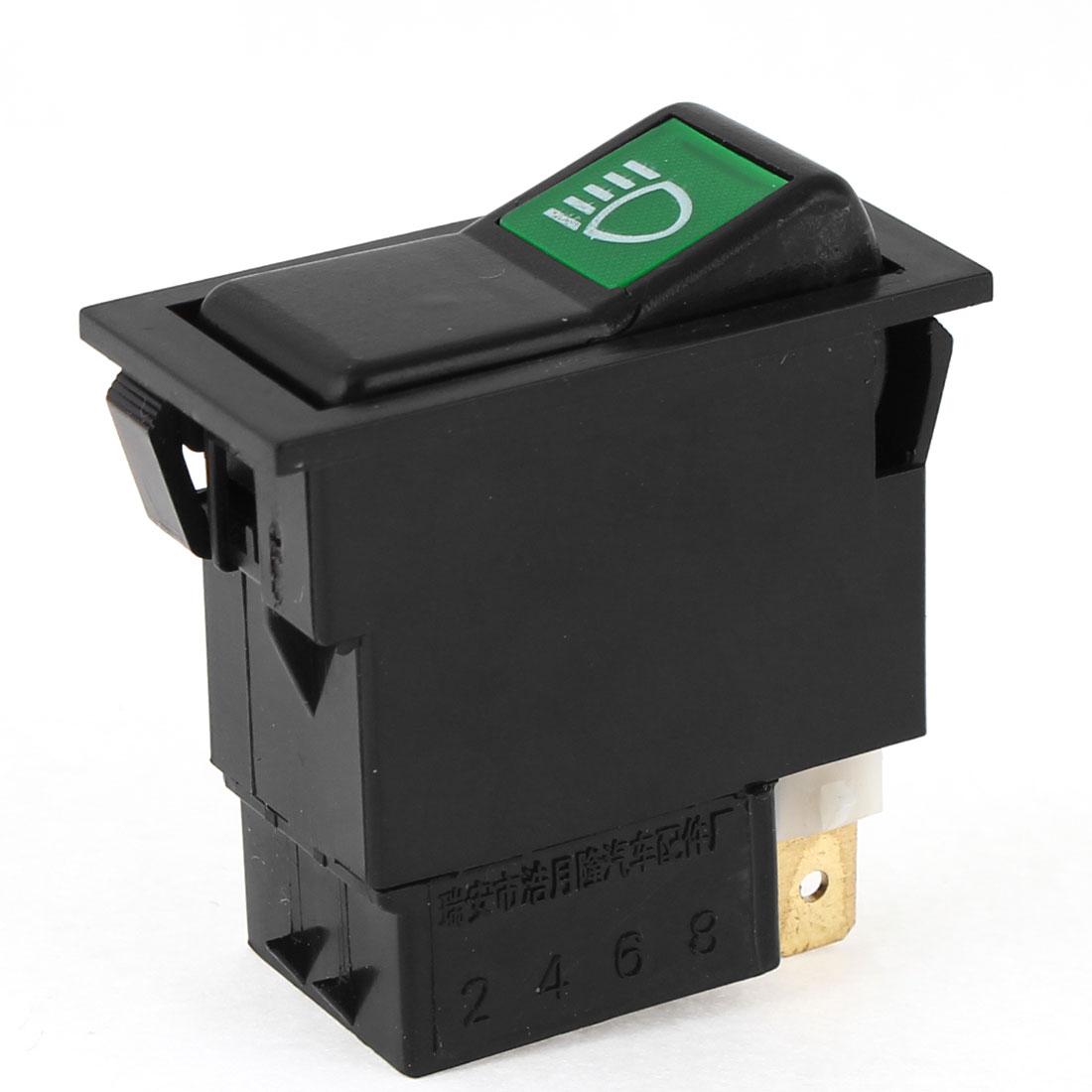 Dc 12 В 6 контакт. ON-OFF противотуманные фары клавишный переключатель для авто скидки до 50 установлен 42 мм x 22 мм( L*W) для авто