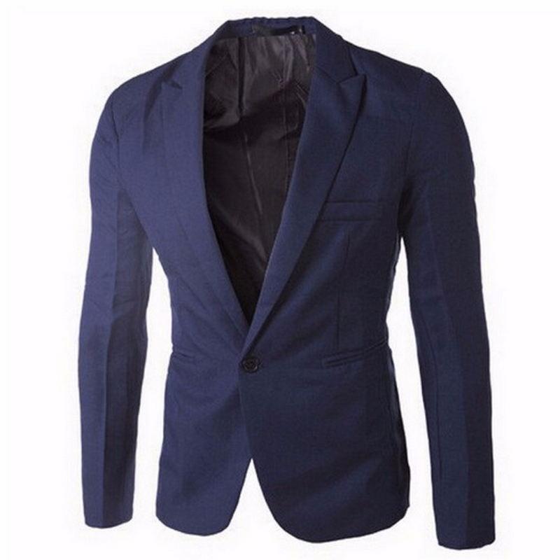 Popular White Blazer Men-Buy Cheap White Blazer Men lots from ...