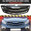 רדיאטור גריל מקרה עבור Kia Sportage III 2011 2015 עם משקוף ABS פלסטיק גוף ערכת אווירודינמי קישוט רכב סטיילינג כוונון