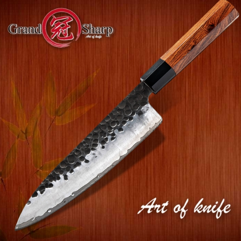 Handmade Chef Knife 3 layers Japanese AUS10 steel Kitchen Knives ECO Friendly Cooking Tools Vegetables Slice