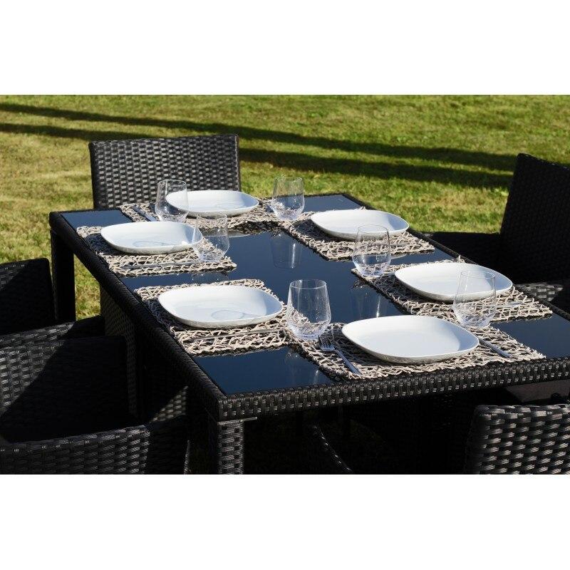 Conjunto Comedor Muebles De Comedor Para Jardin Y Terraza En Ratan Sintetico Muebles De Exterior