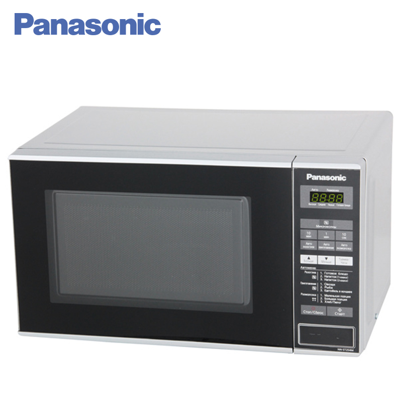 Panasonic NN-ST254MZTE Microwave Oven Baking Oven Mini Oven Household Mini multifunctional Mechanical Timer Control Electric 10pcs lot high quality microwave oven repairing part 13 x 12cm mica plates sheets for galanz etc microwave