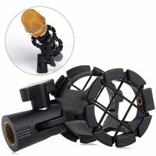 Universal Microphone Suspension Shock Mount Clip Condenser Holder Studio Sound Recording Stand 1PC(China)
