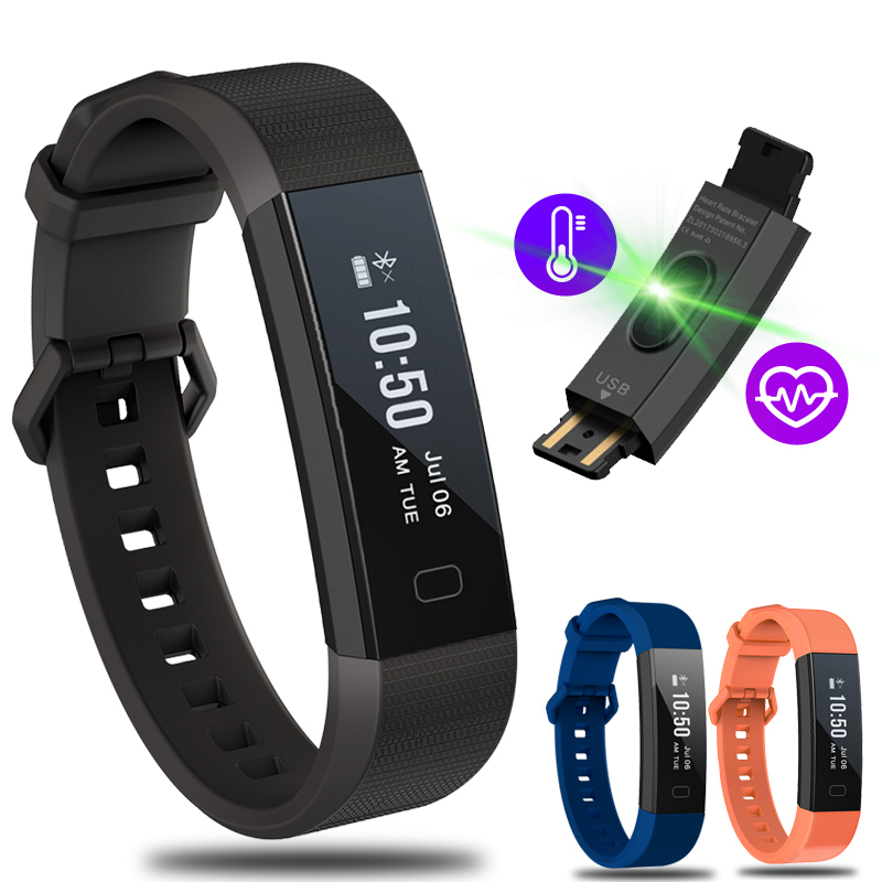 BANGWEI Smart Wrist band Watch Pedometer Fitness Smart Bracelet IP67 Waterproof Heart Rate Monitor call Reminder for Andriod IOS