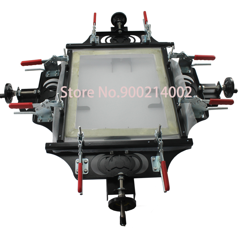 TECHTONGDA 1 Set Screen Printing Machine Manual Screen Frame Stretcher 20 x 24 Tension Shirt Printing