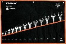 Набор ключей рожковых КРАТОН SWS-05 13 пр.