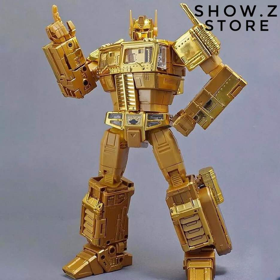 все цены на [Show.Z Store] Original MP10G MP-10G Masterpiece OP Gold Lagoon Edition Transformation Action Figure онлайн