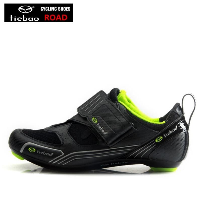 mejor autentico 68215 c31c5 US $31.01 22% OFF|TIEBAO racing bike shoes zapatillas hombre zapatillas  bicicleta road shoes sapatilha ciclismo cycling sneakers equitation-in  Cycling ...