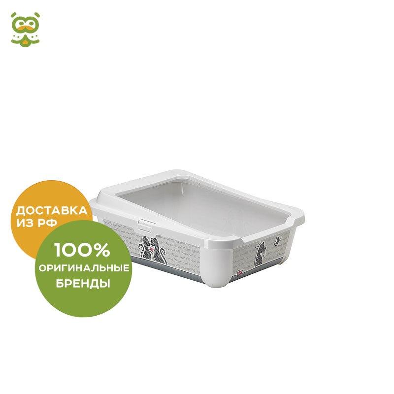 цена Moderna Cats In Love toilet with a board (51*39*19 cm), without characteristics онлайн в 2017 году