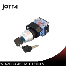 LA38-11Y/22  2 position key-lock momentary push button switch цена