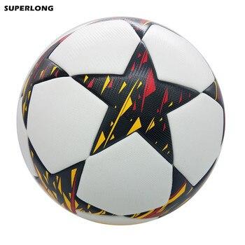 2014-2015 Champion League Official size 5 Football ball PU Granule Slip-resistant Seamless Soccer ball Top Quality Football soccer balls size 4