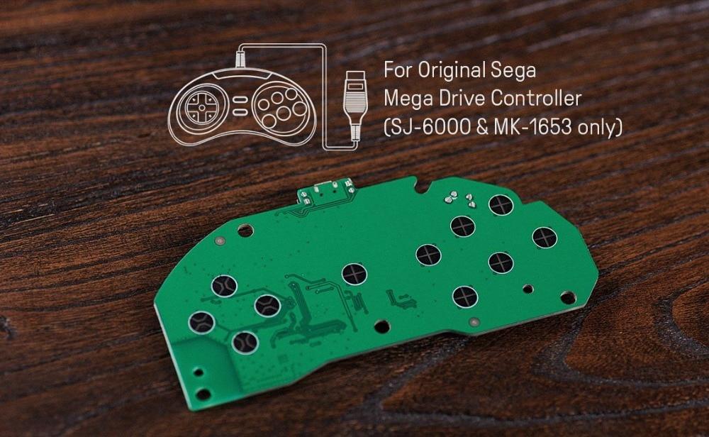 8BitDo Mod Kit for Original MD Controller DIY MD Controller to Bluetooth Gamepad