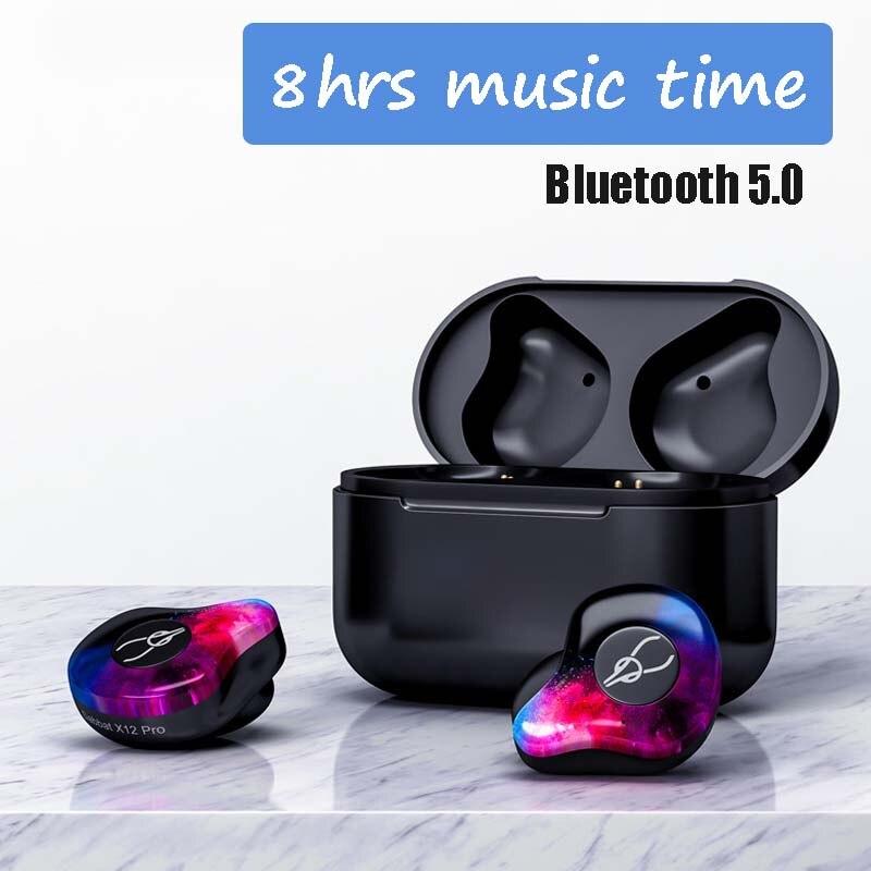 TWS V5.0 Auricolare Senza Fili Bluetooth Auricolare 3D Sport in-ear cuffie Stereo Impermeabile Con Microfono Auricolare Per Il Iphone Android