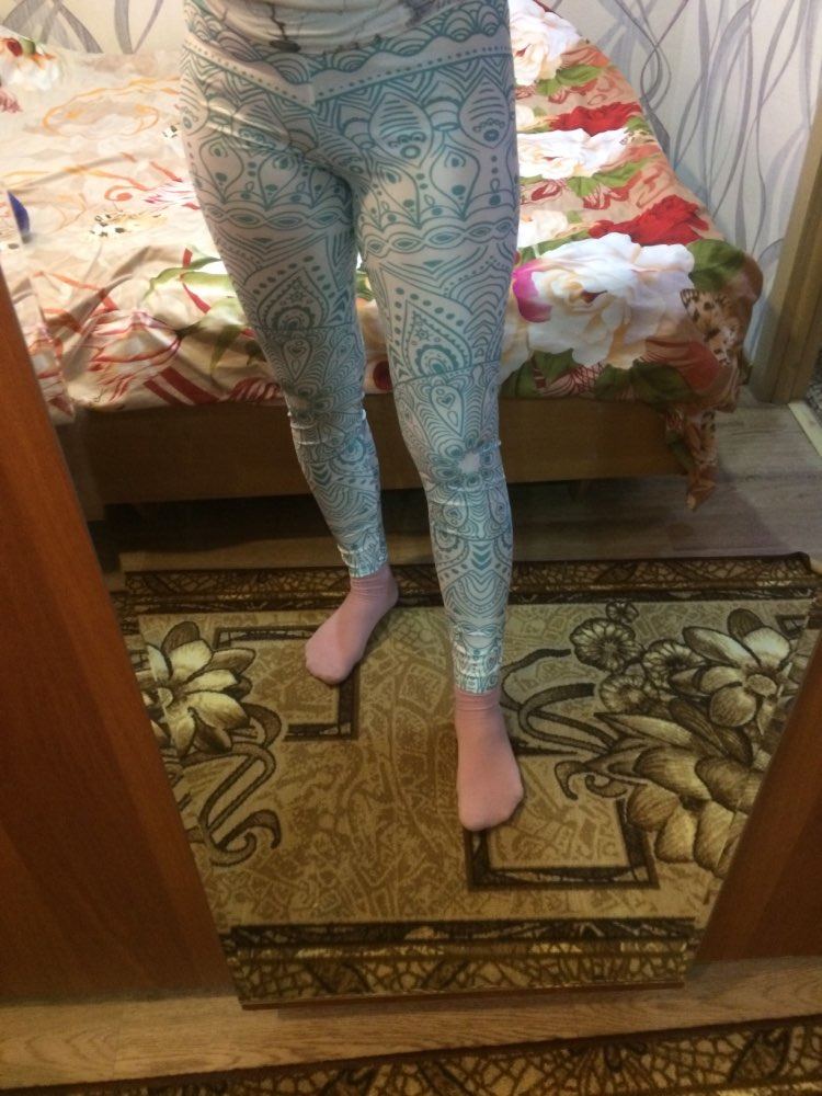 BoSun | Leggings imprimés Boho photo review