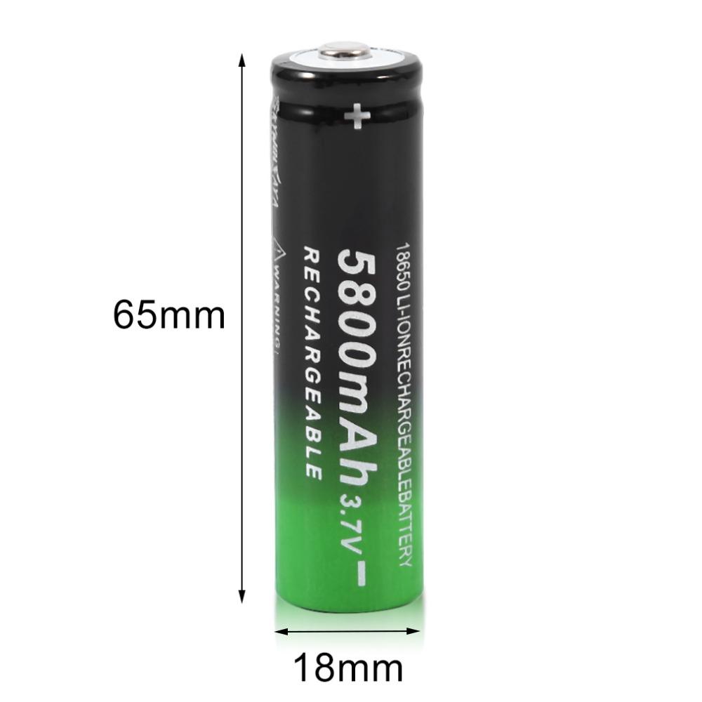 סוללת 18650-5800mah