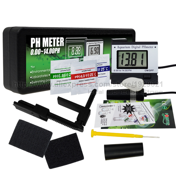 Water Tests & Treatment Ph Monitor Meter Atc 0~14ph W/ Power Adaptor 1.5m Long Electrode Probe Spa Tank Fixing Prices According To Quality Of Products