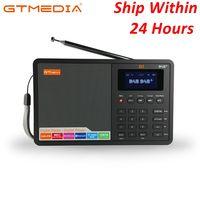 1.8 inch LCD Display Outdoor Mini POCKET FM Radio with Digital Function Support Clock/Alarm/Sleep Timer Bluetooth TF Card Radio