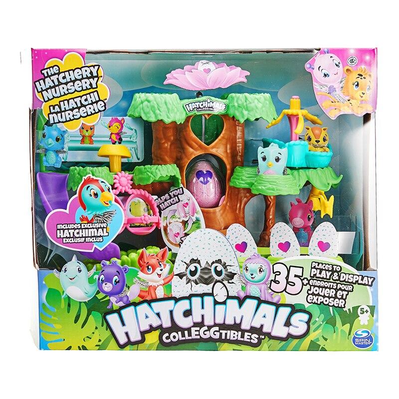 цена на Hatchimals Magical Egg Young Bird Paradise Nursery Playset Creative Egg Child Children Boys Girls Toys Children Kids Toy MFD04