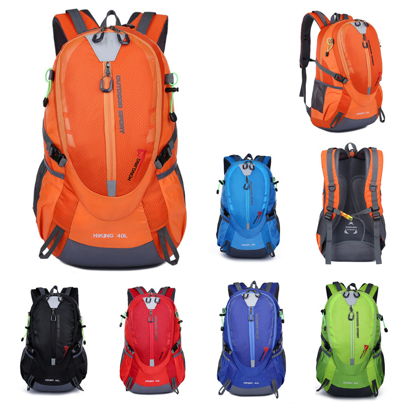40L Unisex Outdoor Travel Multiple Function Bag Sport Bag Camping Backpack Hiking Rucksack Climbing Bags     - title=