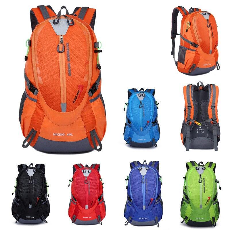 40L Unisex Outdoor Travel Multiple Function Bag Sport Bag Camping Backpack Hiking Rucksack