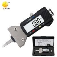 0-25 MM Automática primavera Snap primavera hilo manómetro digital Medidor de Profundidad Digital Del Neumático medidor de profundidad con la primavera