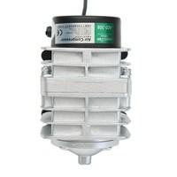 ZHIYANG 45L Min 25W Electromagnetic Air Compressor Aquarium Oxygen Pond Air Pump Aerator Aluminum Alloy