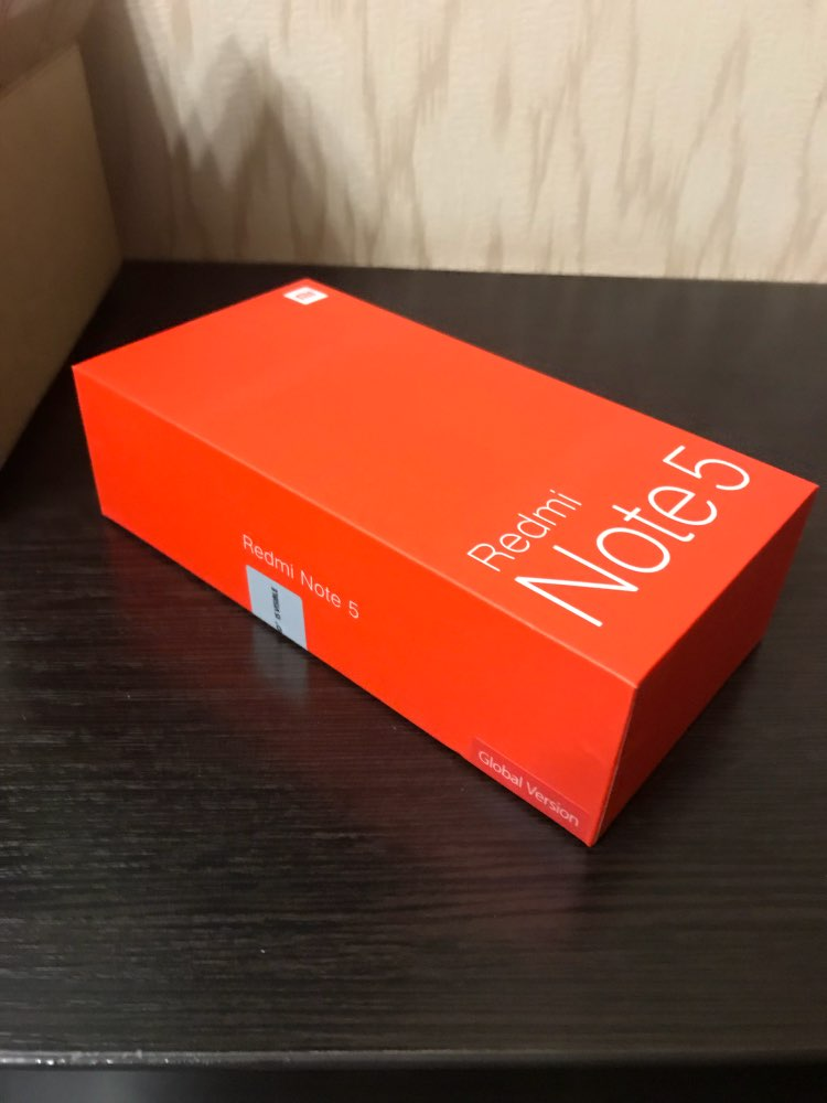 Смартфон Xiaomi Redmi Note 5 32 ГБ. Официальная гарантия 1 год, Доставка от 2 дней.