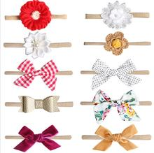 2019 New Style Of New Born Kids Lovely Bow Hairband American And European Cute Children's Photo Headband Hair Accessories