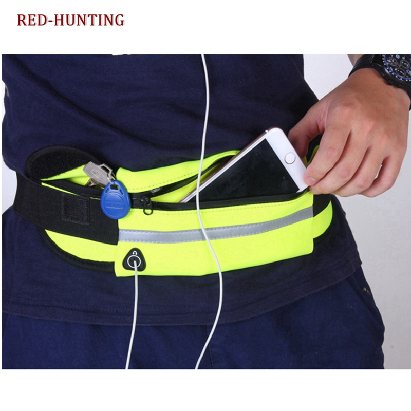 For Outdoor Running Waist Bag Fanny Pack Chest Outdoor Pouch Camping Hike Military Bags