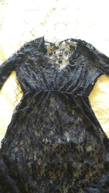 ArtSu Women Black Lace Dress Floor-Length White See Through Dress Adjust Waist Sexy New Hollow Out Vestido Maxi Plus Size DR5046