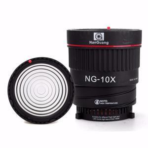 Image 5 - Nanguang NG 10X Studio Light Focus Lens Bowen Mount For Flash Led Light With 4 Color Filter Light Set Photography Accessories