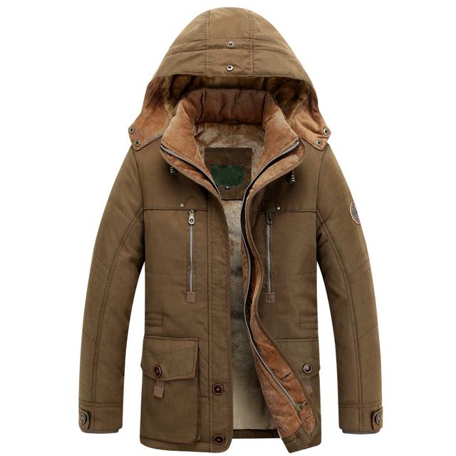 2018 thick winter jacket man's coat