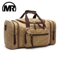 MARKROYAL Мягкий Холст для мужчин дорожные сумки вести чемодан сумки вещевой мешок Сумка вместительная сумка для путешествий выходные Высокая