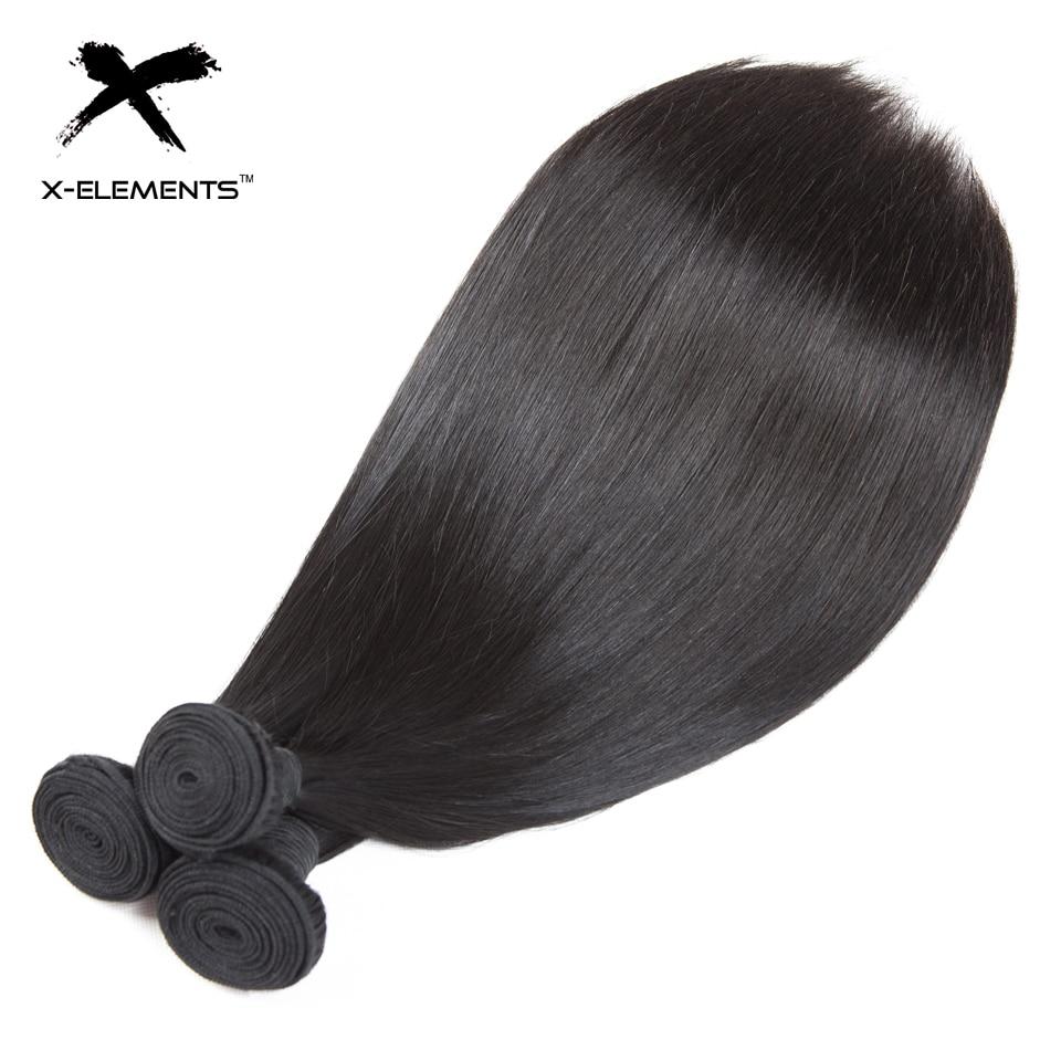 X-Elements Συσσωματώματα Ανθρώπινης - Ανθρώπινα μαλλιά (για μαύρο) - Φωτογραφία 4