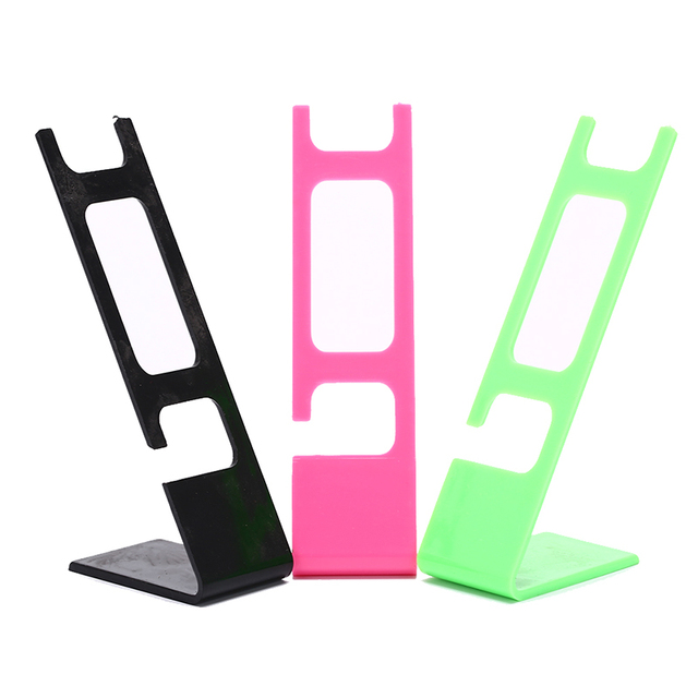 Plastic Stand Rack General Showcase Shelf PortableWatch storage box case jewelry display stand 2-holder rack showcase shelf